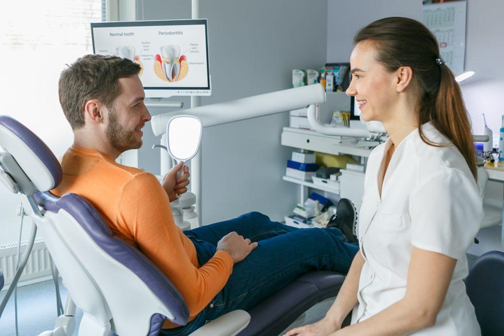 parodontoloogi konsultatsioon, dr. Tatjana Kašunina